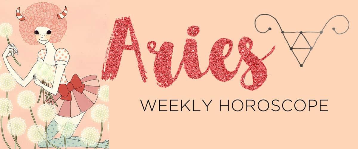 aries weekly horoscope