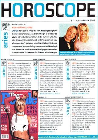 Teenscopes Free Teen Horoscopes Daily 39