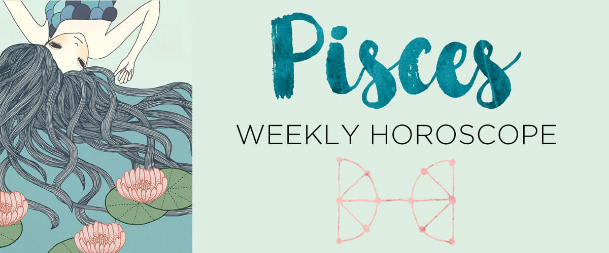 Pisces Weekly Horoscope by The AstroTwins | Astrostyle