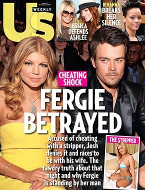 Josh Duhamel cheated on Fergie