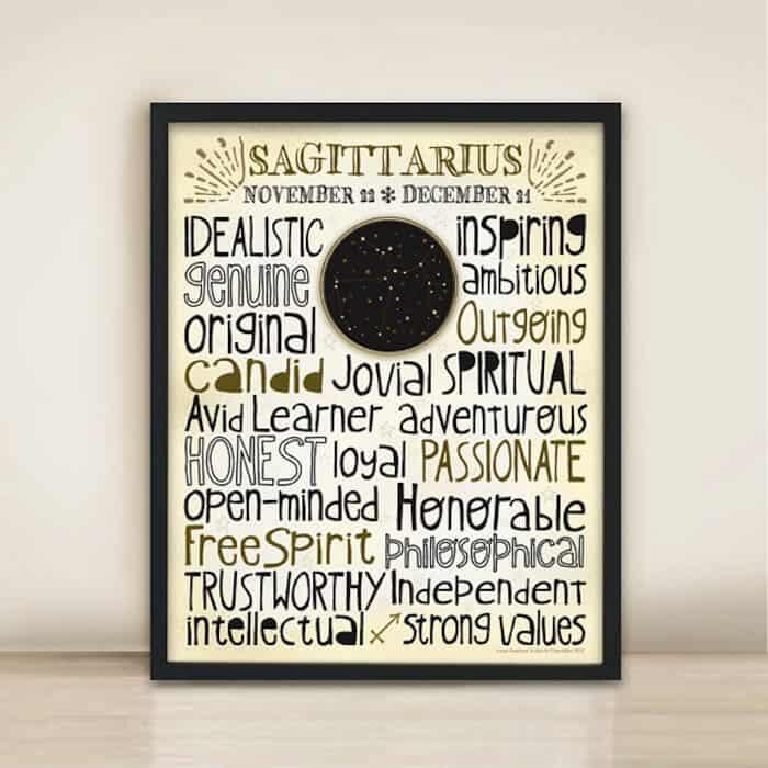 Anne-Garrison-Studio-Sagittarius-poster