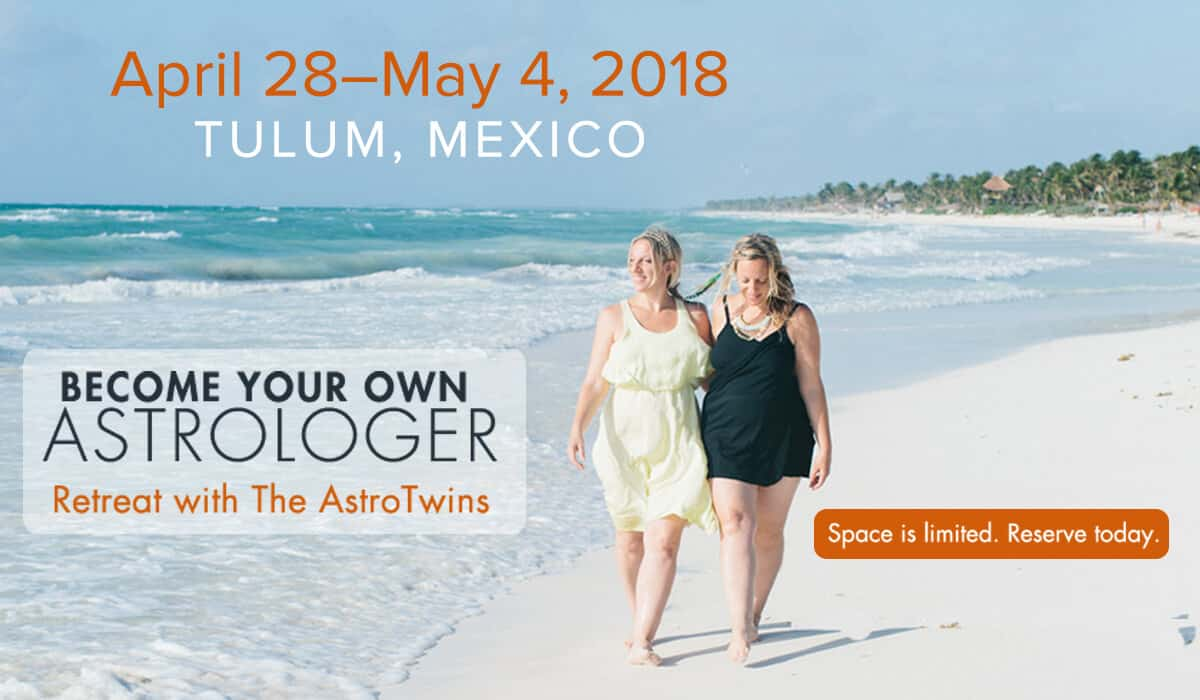 astrotwins retreat in tulum