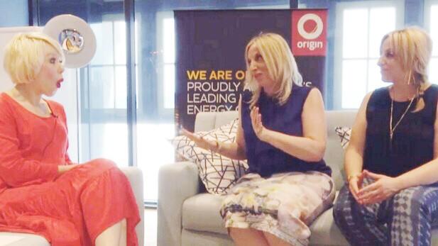Yahoo 7 with Natasha Lee