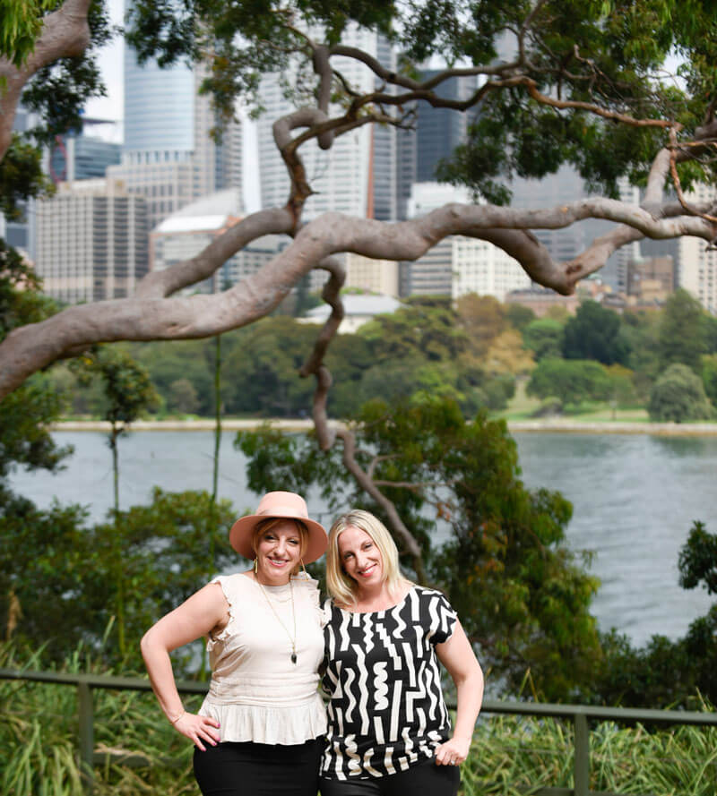 AstroTwins Origin Energy at Sydney Botanical Gardens