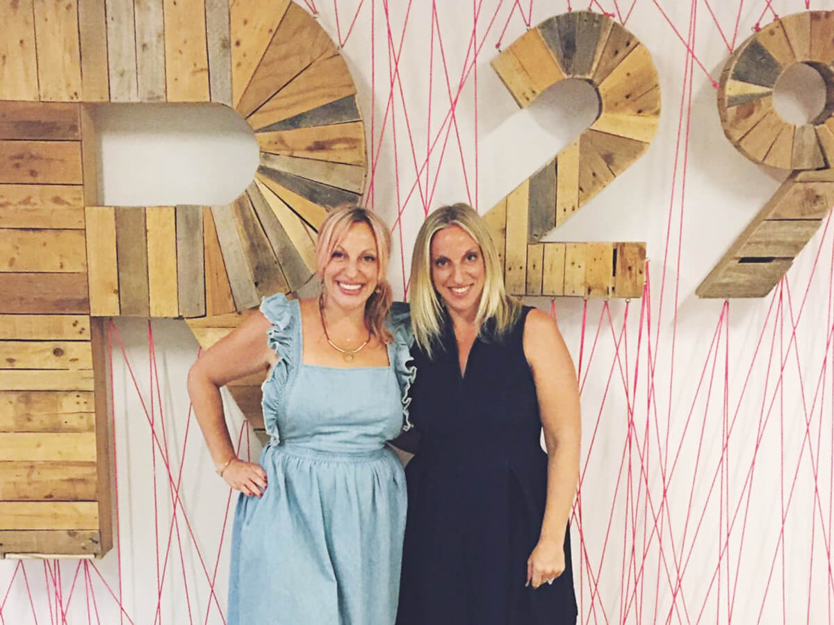 astrotwins at refinery29 headquarters!