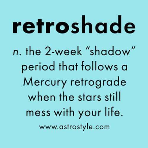 retroshade: it ain't over 'til it's over
