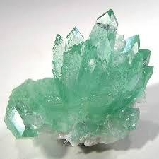 apophyllite gemini crystals