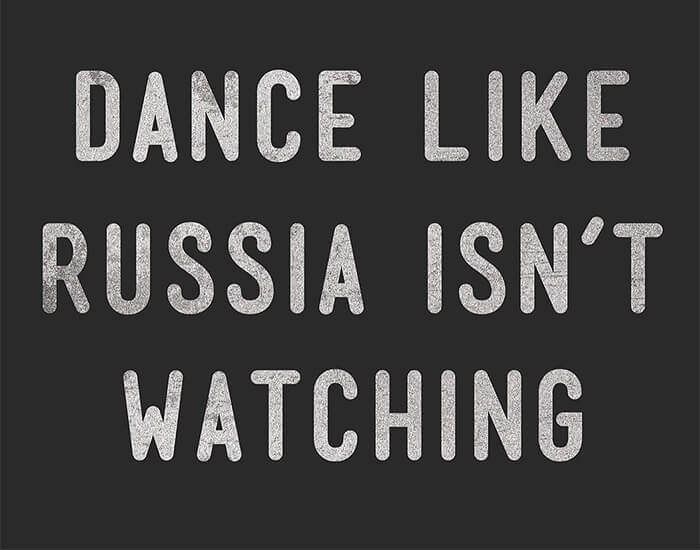dance like russia isn't watching - august eclipse