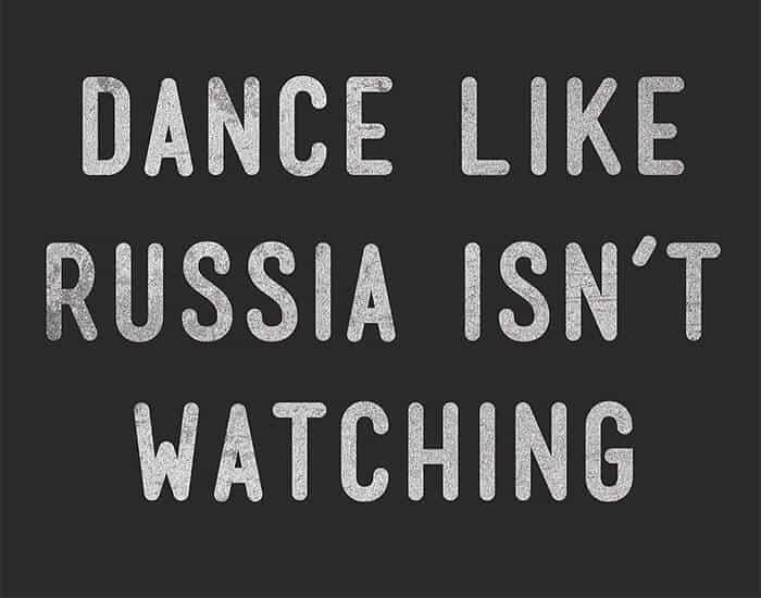 dance like russia isn't watching - august eclipse