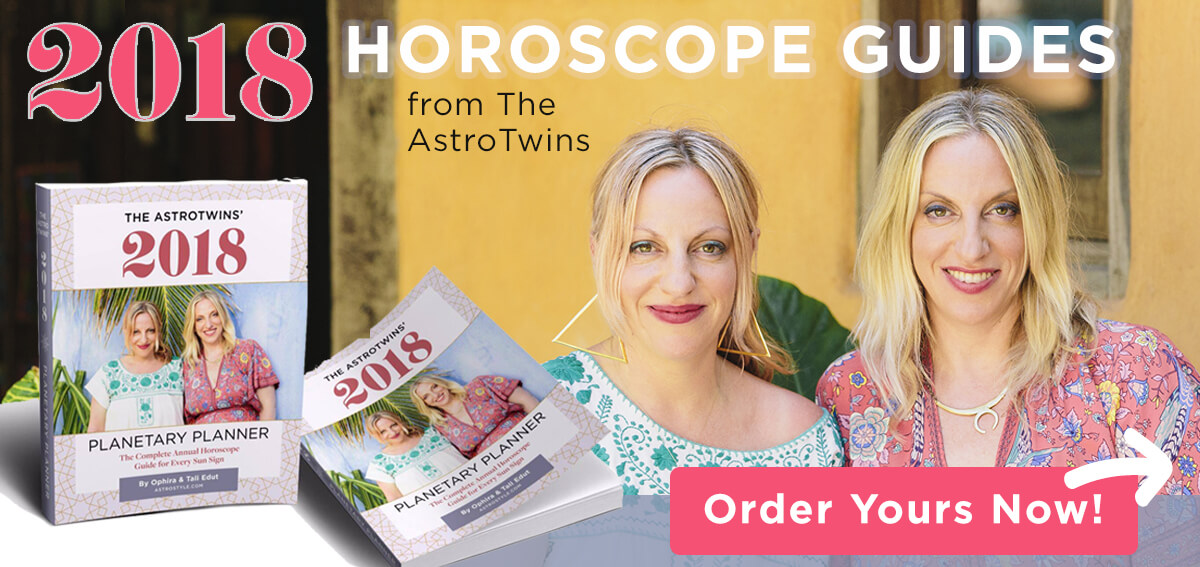 2018 Horoscope Guides by The AstroTwins
