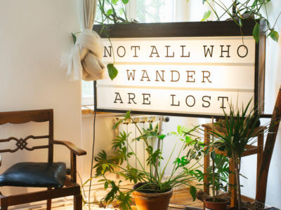 not all who wander are lost sign for mercury retrograde astrology