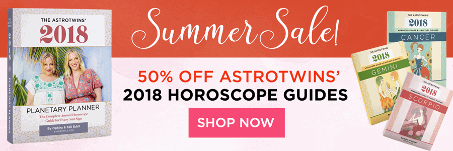 AstroTwins' 2018 Horoscope Guides: Now 50% Off