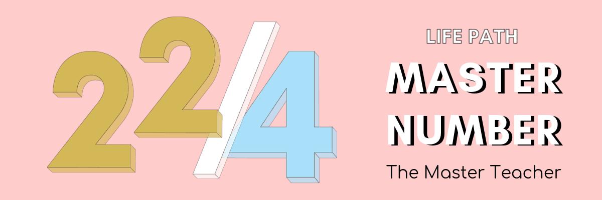 22/4 master number astrology