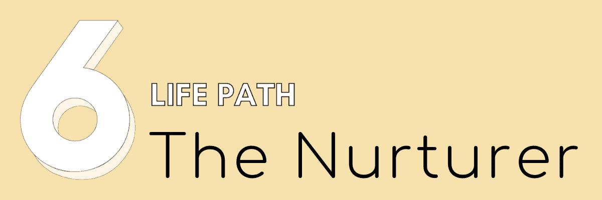 6 life path numerology