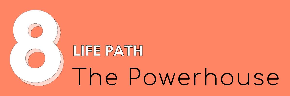 8 life path numerology