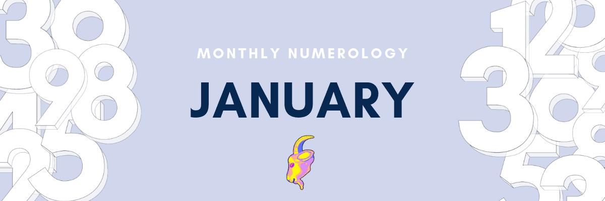 january numerology astrology forecast