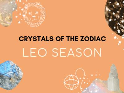 leo season crystal horoscope
