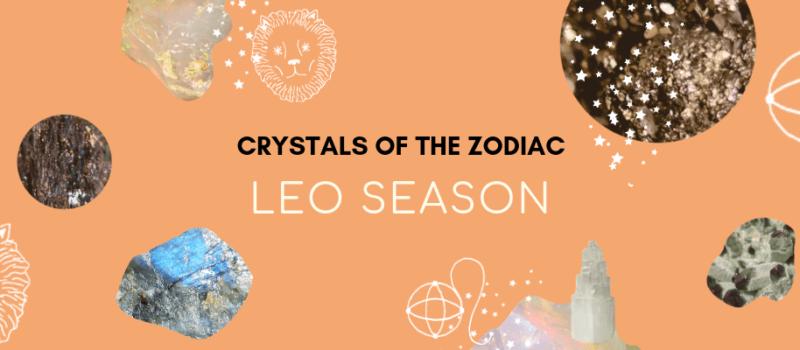 Crystal Horoscope: Healing Gemstones for Leo Season