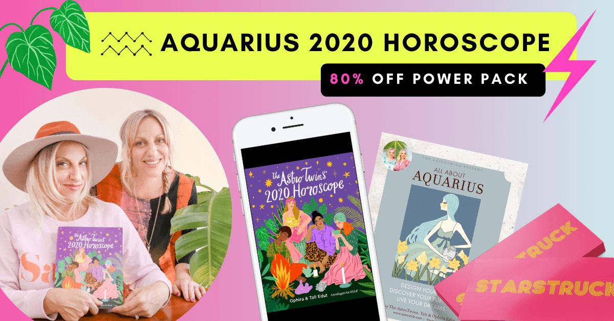 Aquarius 2020 Horoscope