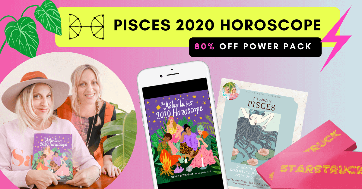 Astrotwins Pisces 2020 Horoscope