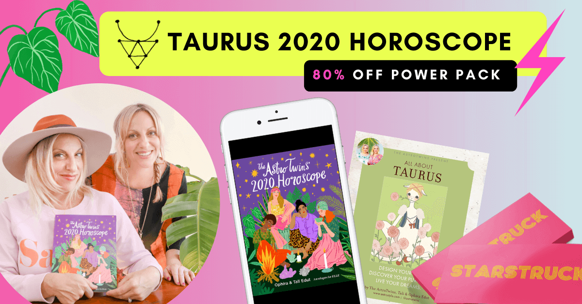 AstroTwins Taurus 2020 Horoscope Bundle