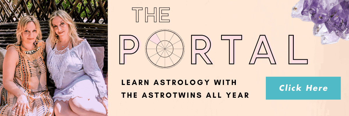 Join The Portal and learn astrology with The AstroTwins all year