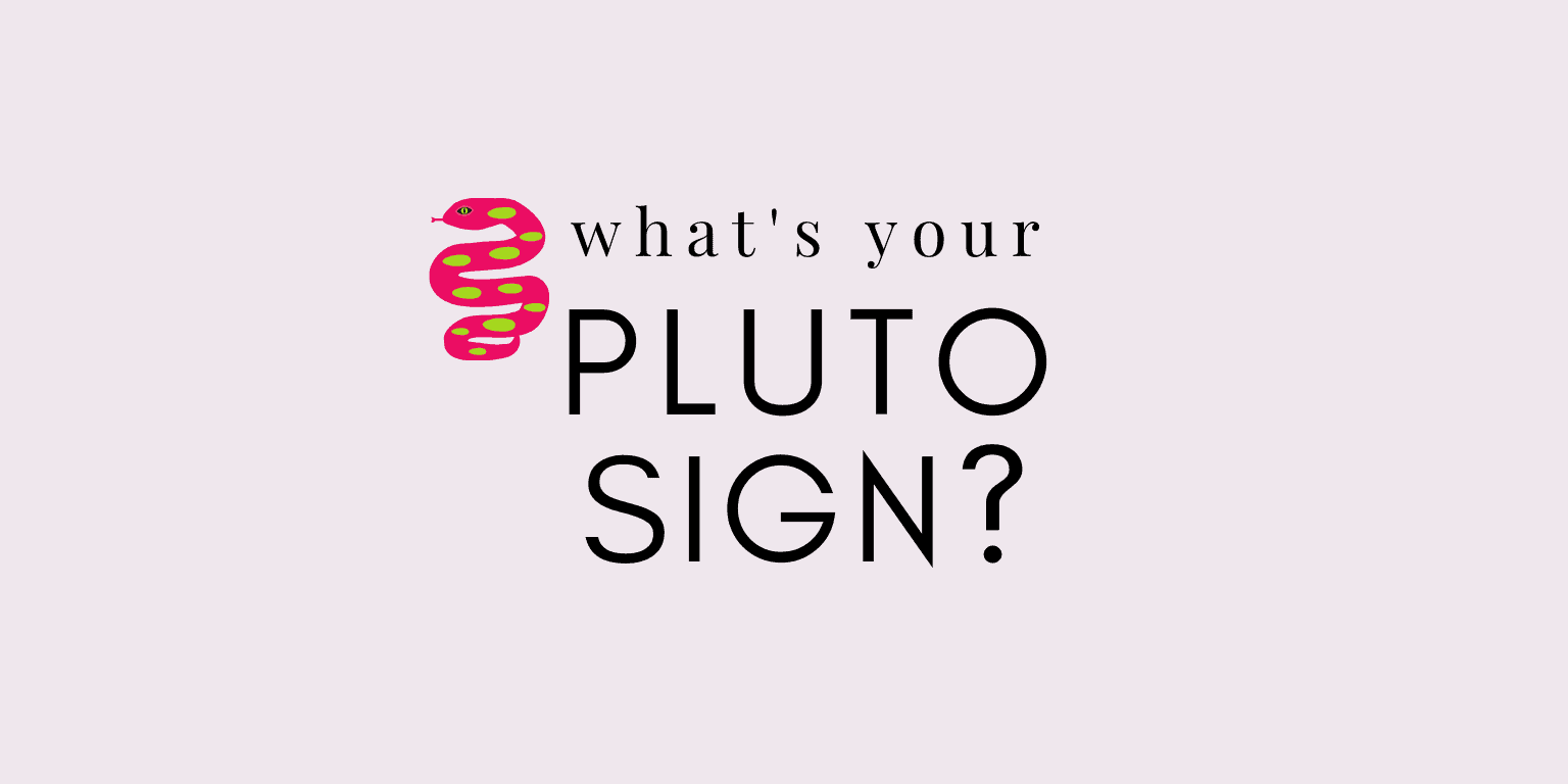 what's my pluto sign calculator