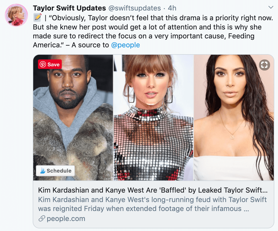 kanye kim kardashian taylor swift feud coronavirus