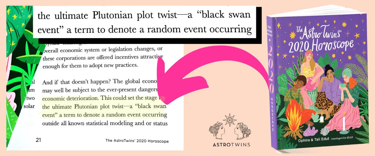 coronavirus astrology black swan event