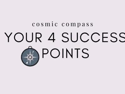 4 Success Points of Astrology Cosmic Compass