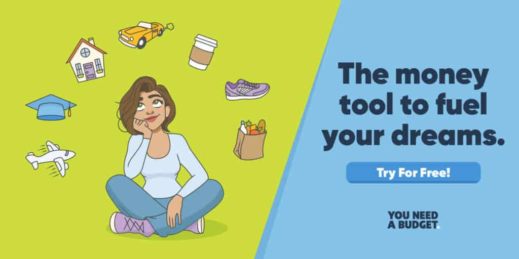 YNAB Try the App for Free