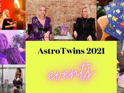 AstroTwins 2021 Event Calendar