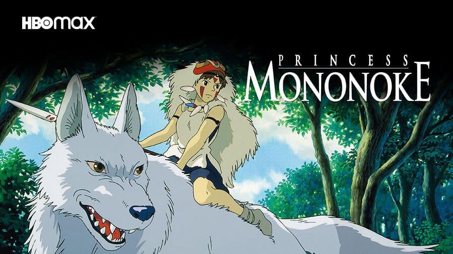 Princess Mononoke on HBO Max