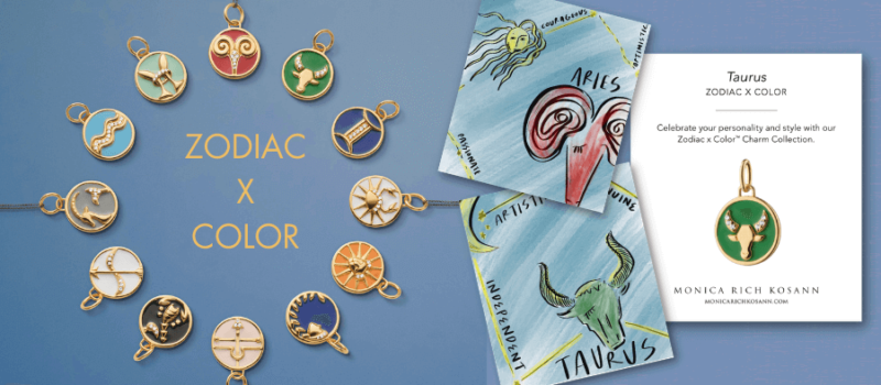 Jeweler Monica Rich Kosann's New Zodiac X Color Line