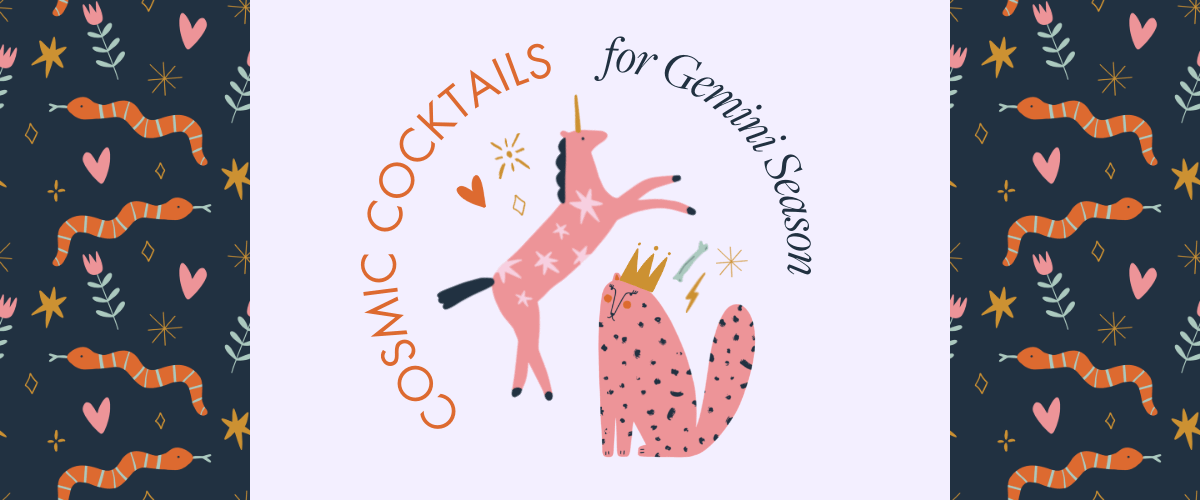 Kinky Beverages Horoscope Cocktails Gemini Season