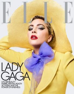 ELLE Magazine with Lady Gaga